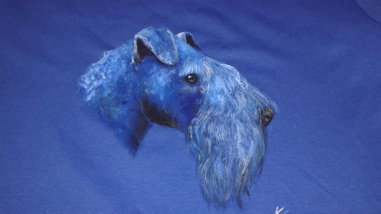 T-shirt – Kerry blue