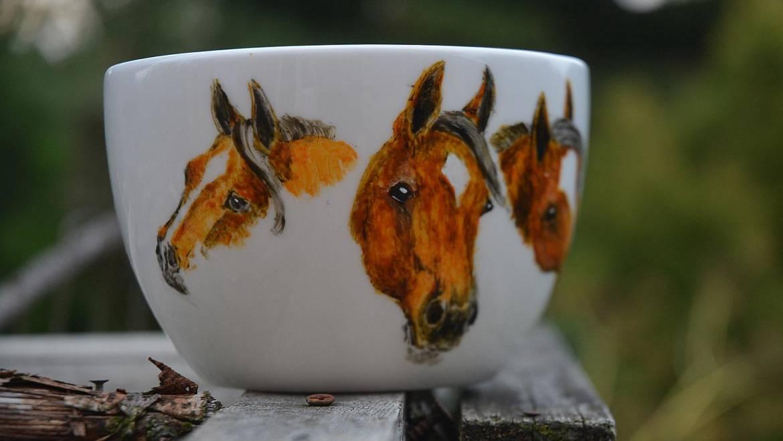 Horses Mug